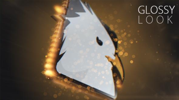 Magic Particles Logo - 2
