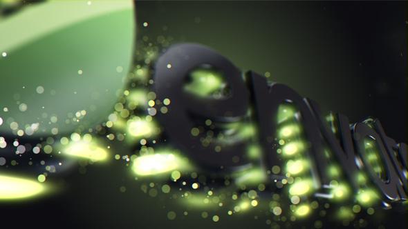 Magic Particles Logo - 4