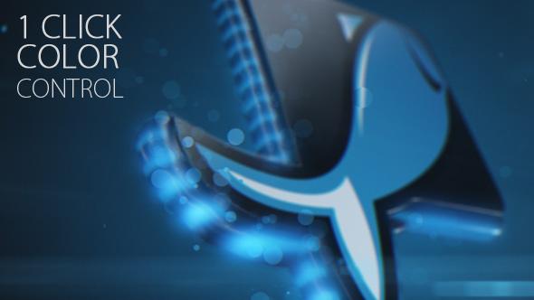 Magic Particles Logo - 5